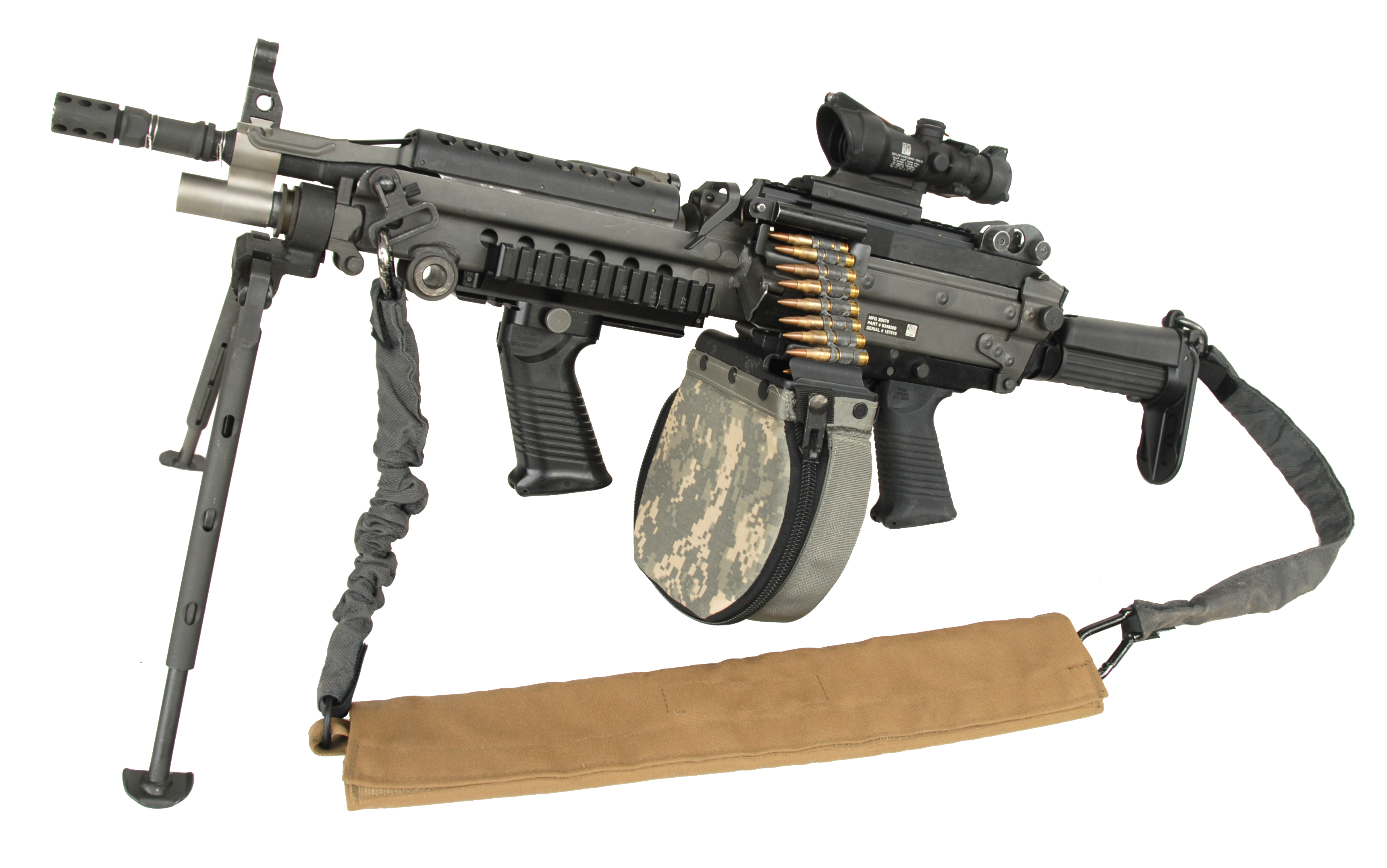 Improved M249 Machine Gun